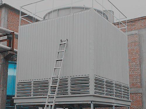 方形逆流式玻璃鋼冷卻塔